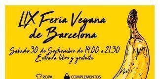 Feria Vegana de Barcelona 30 Septiembre