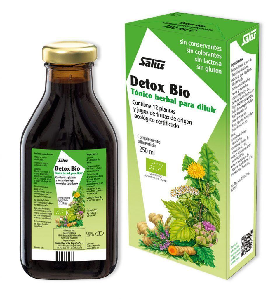 Detox Bio, depuración sana y natural, de Salus