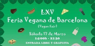 17 de Marzo: LXV Feria Vegana de Barcelona