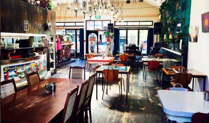 Alimentar el alma en Nueva Zelanda East Street Vegetarian Cafe and Bar
