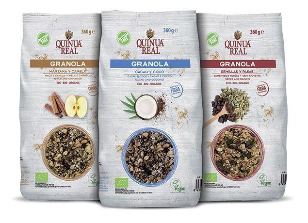 granolas quinua real