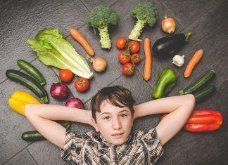 Niños veganos niñas veganas