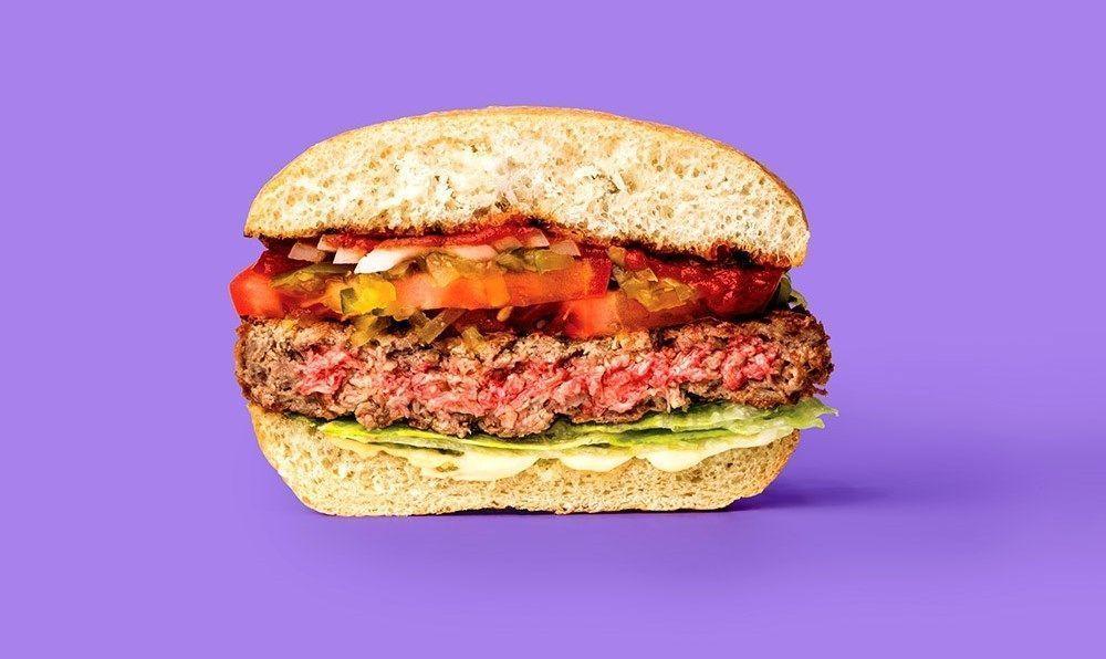 hamburguesa vegana de impossible foods