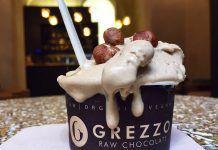 La evolución saludable del dulce Helado crudivegano de avellana - Grezzo Raw Chocolate