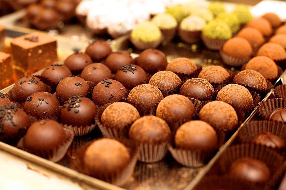 Grezzo Raw Chocolate bombones veganos rellenos