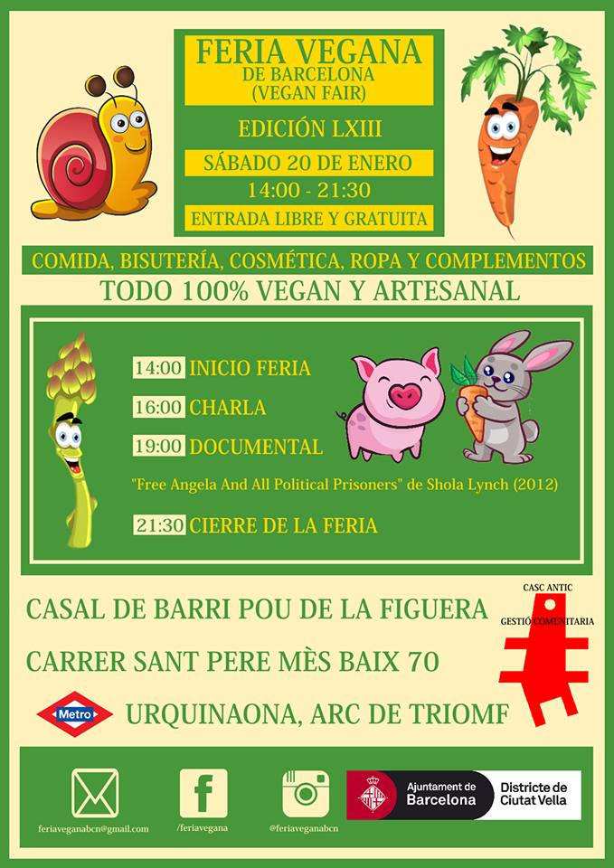 Feria Vegana Barcelona 20 Enero