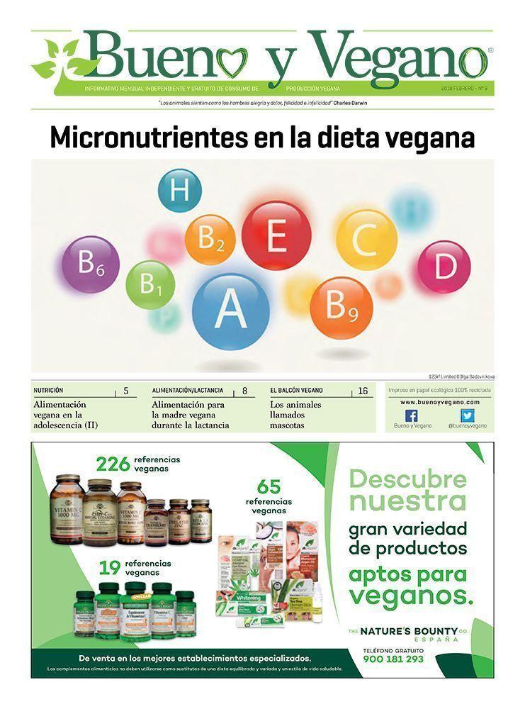 Bueno y Vegano Febrero 2018