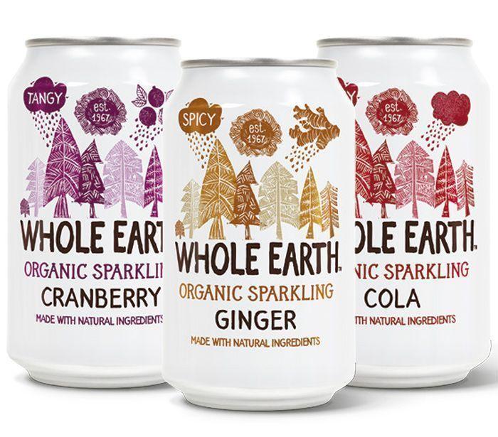 Whole Earth refrescos ecológicos y veganos