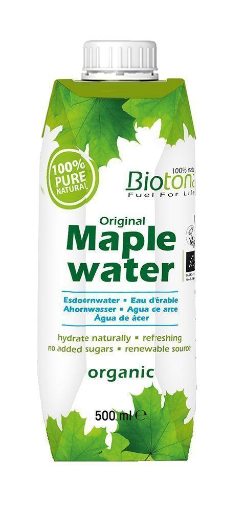Agua de Arce, hidrata de forma natural sin azúcares añadidos, de Biotona