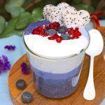 Receta: Relaxing Blue Chía Pudding