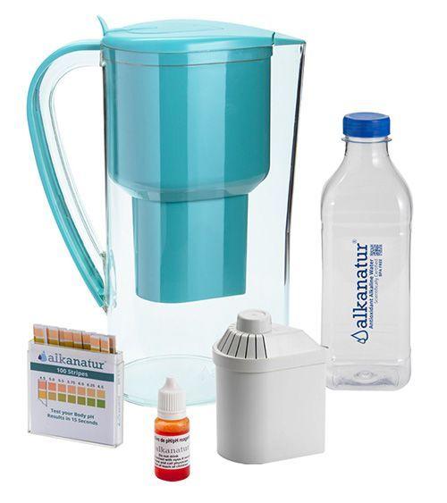 La jarra que depura, alcaliniza e ioniza el agua, de Alkanatur Drops