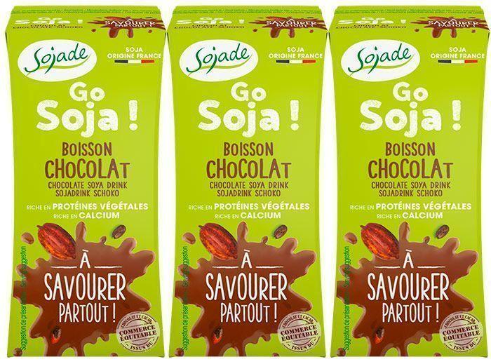 Bebidas de soja 100% ecológicas, de Sojade