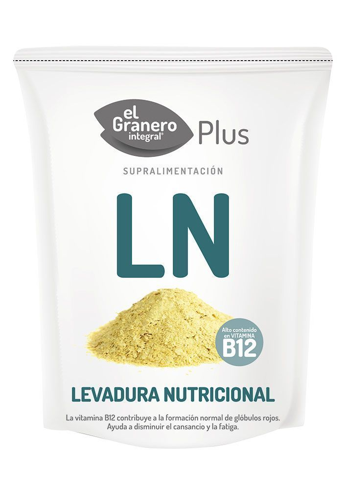 Levadura nutricional con alto contenido en vitamina B12, de El Granero Integral