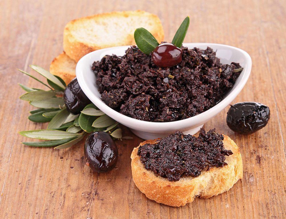 paté vegetal olivas tapenade