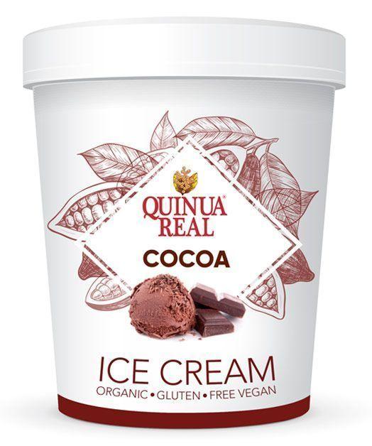 Helado de Quinua Real de cacao / coco, de La Finestra sul Cielo