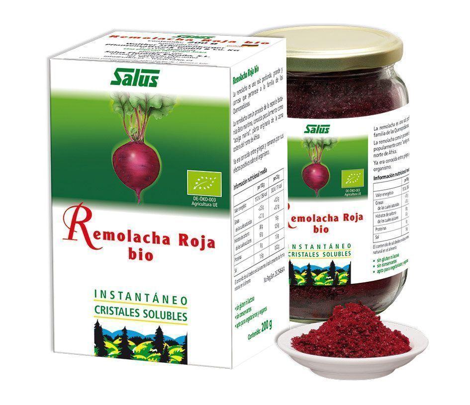 Concentrado de Remolacha roja bio, de Salus