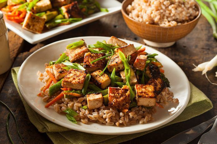 El tofu y sus propiedades alimenticias