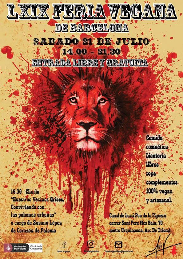 21 de Julio: LXIX Feria Vegana de Barcelona