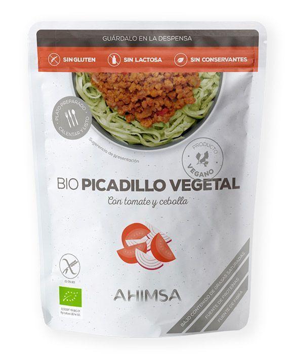 Picadillo vegetal de tomate y cebolla, de Ahimsa