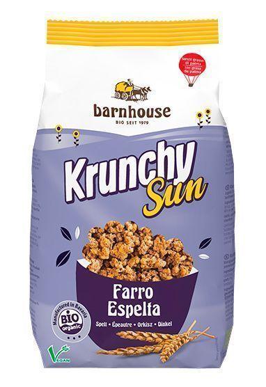 Krunchy ecológico y vegano de Barnhouse