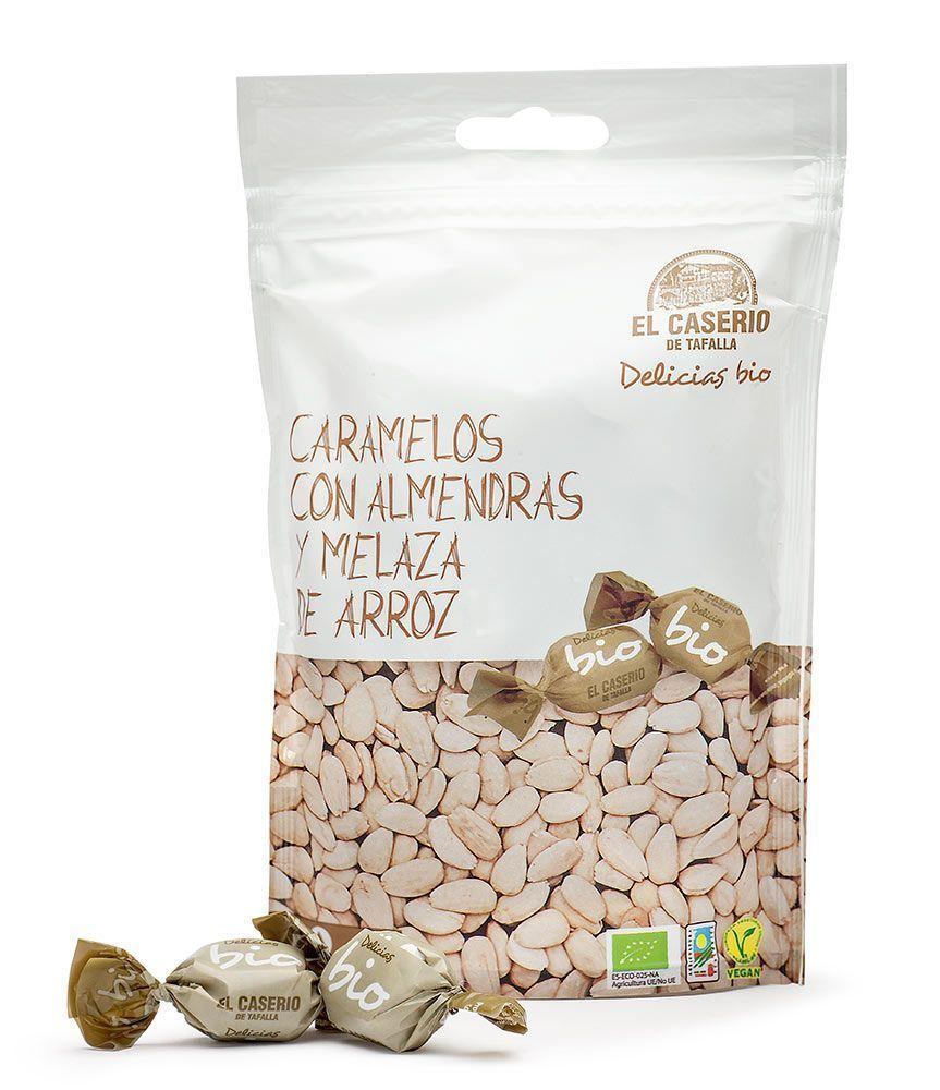Caramelos con almendras y melaza de arroz, de El Caserio de Tafalla