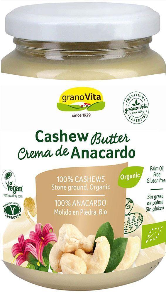 Crema de anacardo bio, de Granovita