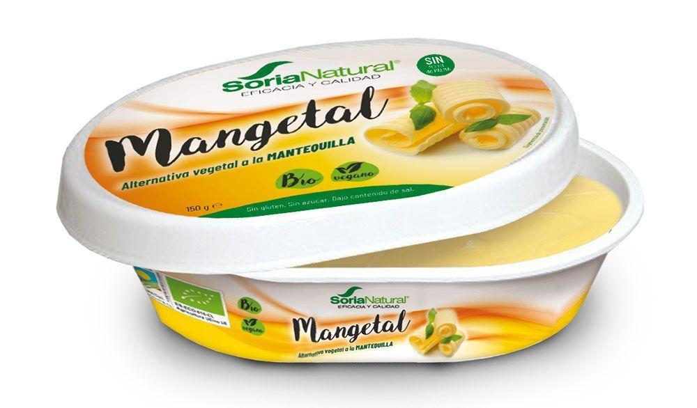 Mangetal, mantequilla vegetal, de Soria Natural