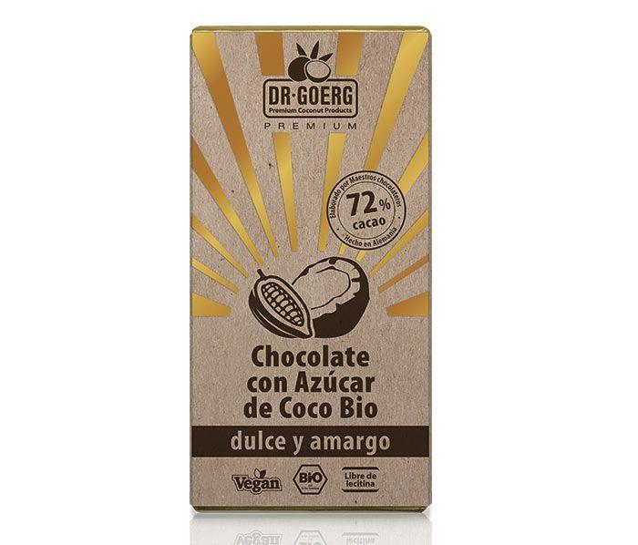 Chocolate con Azúcar de Coco Bio premium, de Dr Goerg