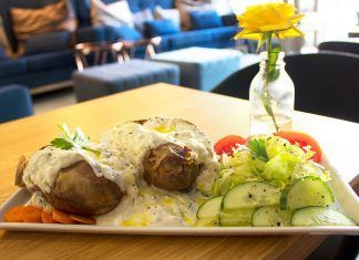 Rosenberg, una cafetería con encanto en Potsdam restaurante vegano berlin