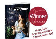 Vive vegano, ganador del premio Gourmand World Cookbook