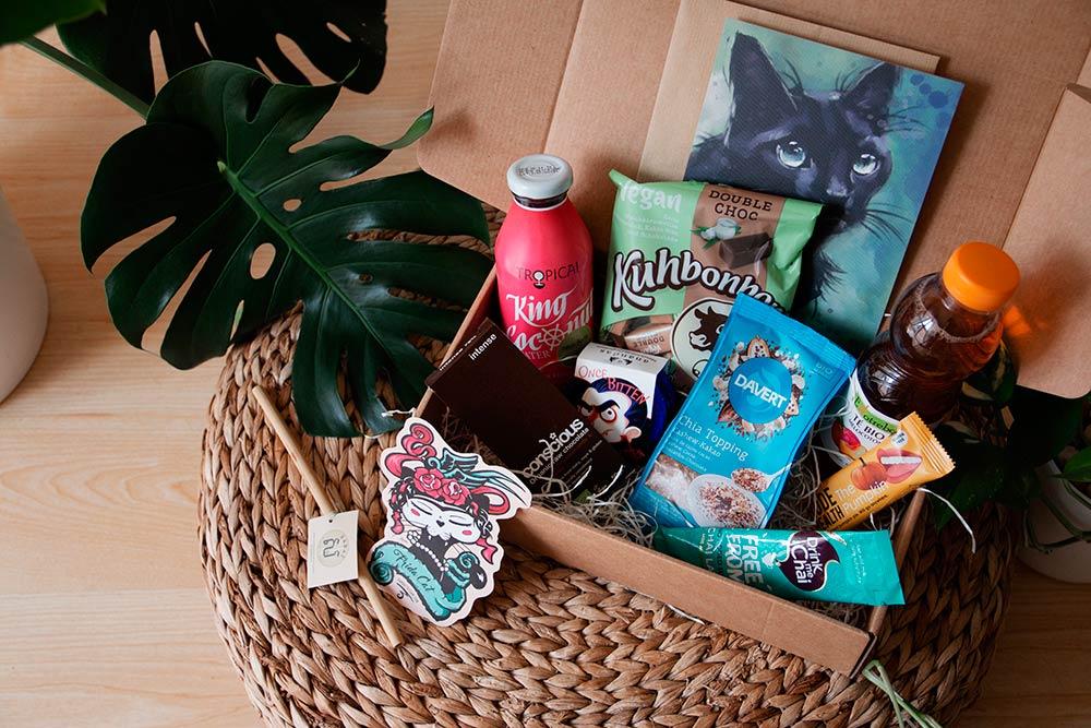 Cesqui's vegan boxes cajas veganas de regalo
