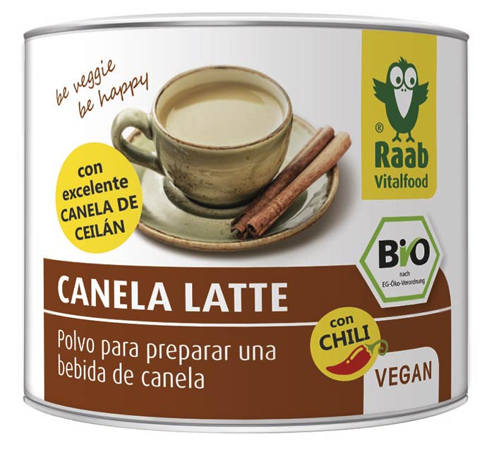 Bio Canela Latte y Chili de, Raab Vitalfood