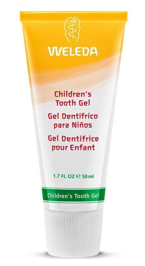 Pasta dentífrica para niños, de Weleda