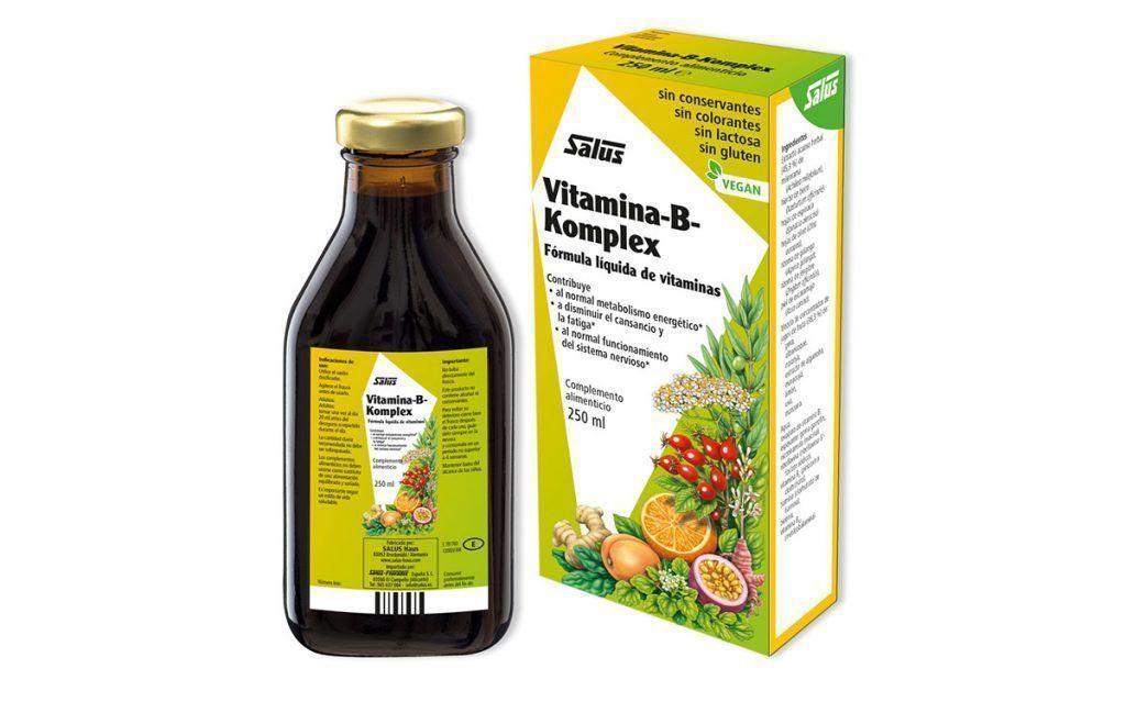 Vitamina-B-Komplex – alternativa líquida, de Salus