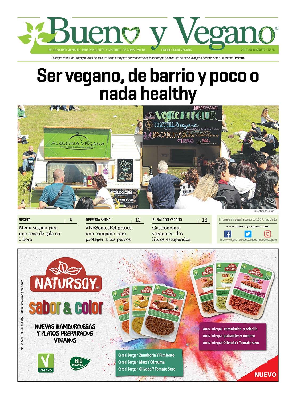 Bueno y Vegano Julio-Agosto 2019