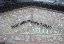 Gran Canaria impulsa el Vegan Chalking Night por todo el mundo