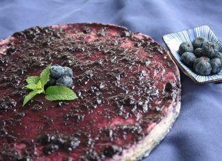 Receta: Cheesecake de arándanos
