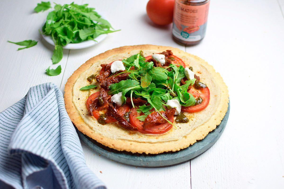 Receta: Pizza vegana sin gluten