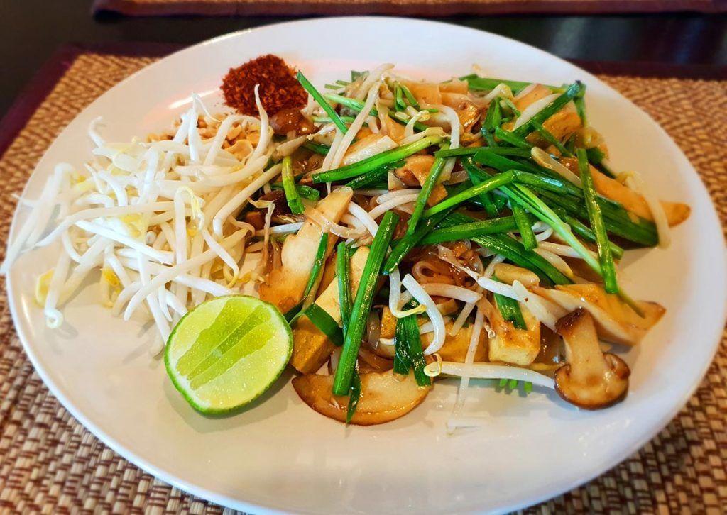 Sabores tailandeses en versión vegana