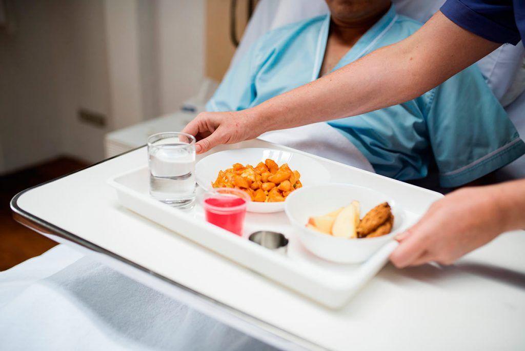 Sobrevivir a la comida de hospital