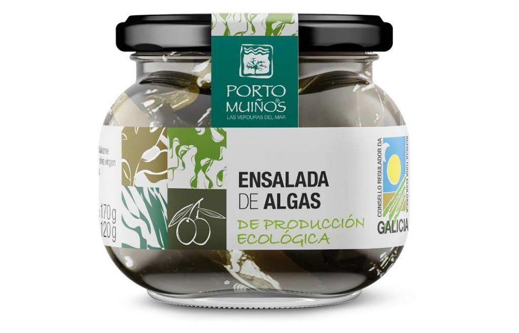 Ensalada de algas de producción ecológica, de Porto Muiños