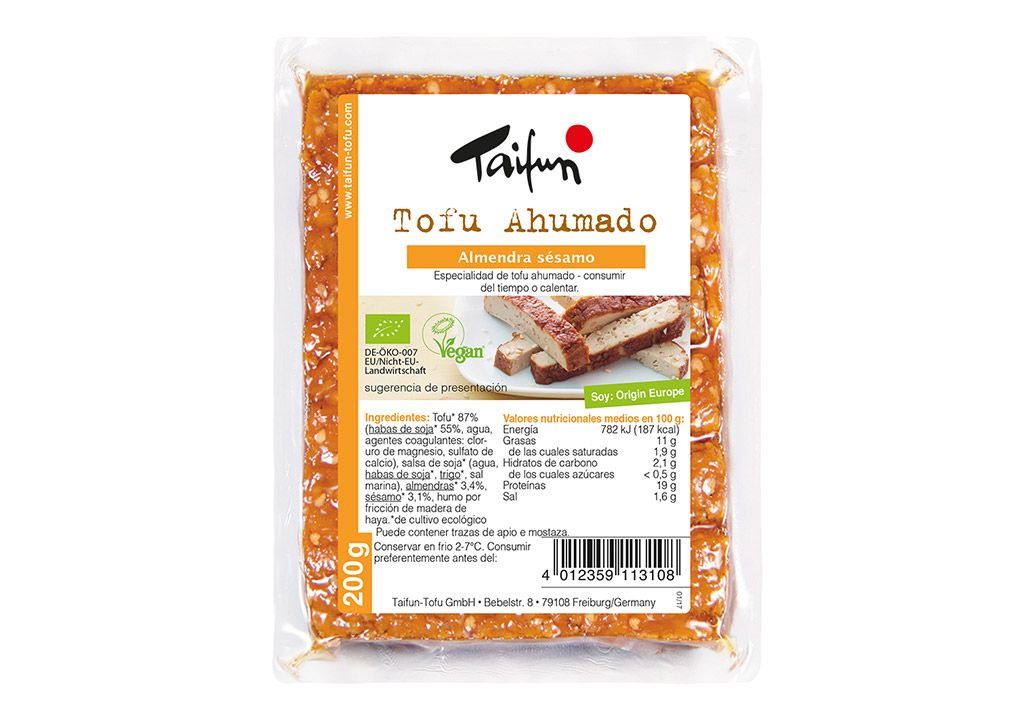 Taifun tofu ahumado
