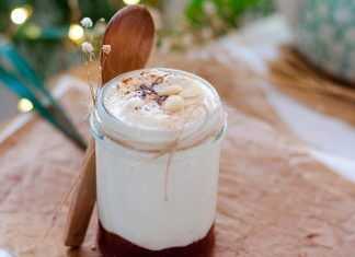 Receta: Vasitos de mermelada con yogur