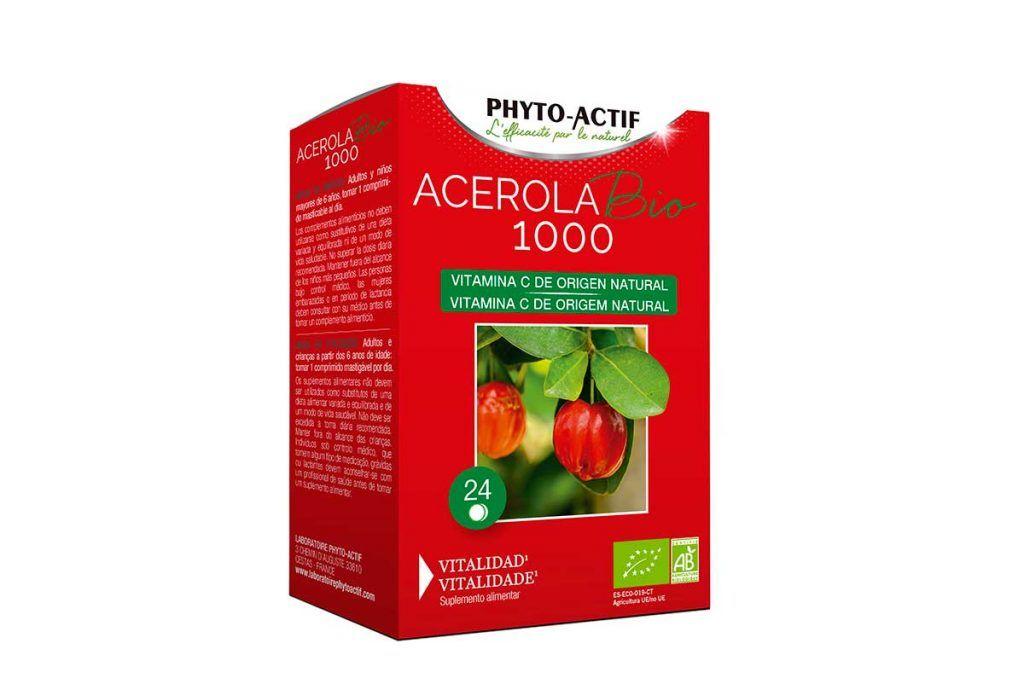 Acerola bio 1000, de Phyto-Actif