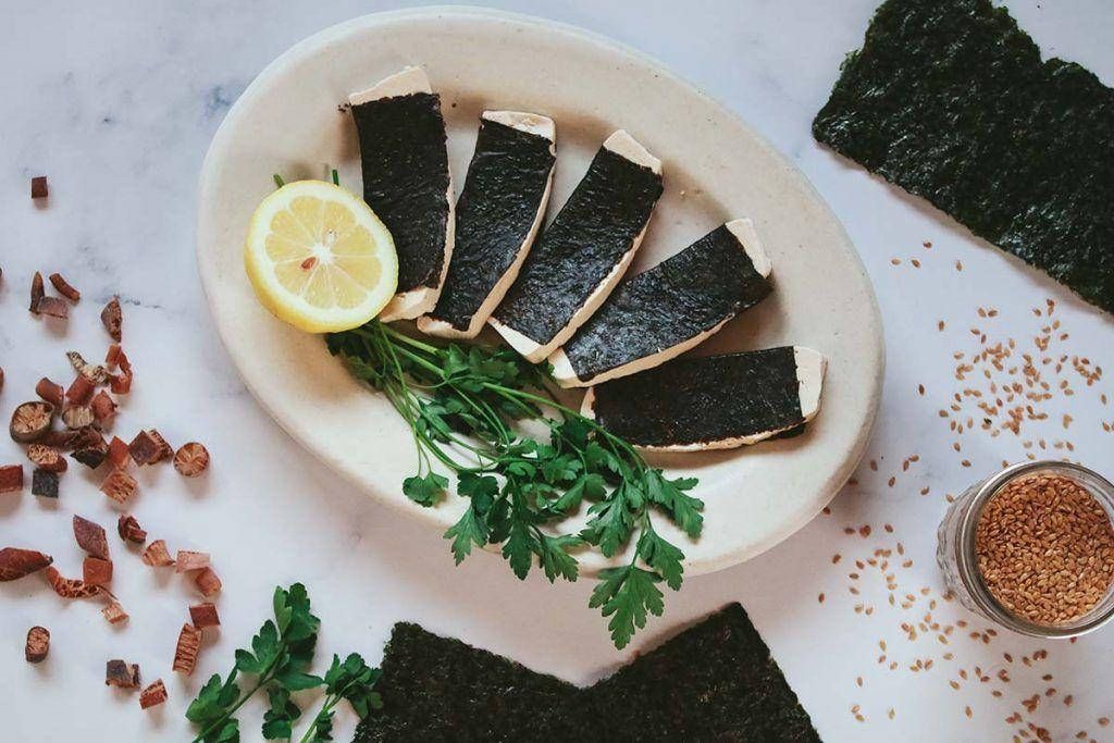 Alimentos que sustituyen al pescado en la alimentación vegana