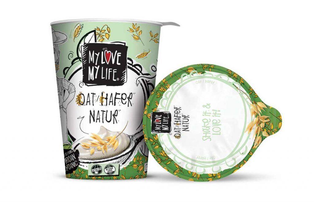 Yogur de avena cremoso y suave, de MyLove-MyLife