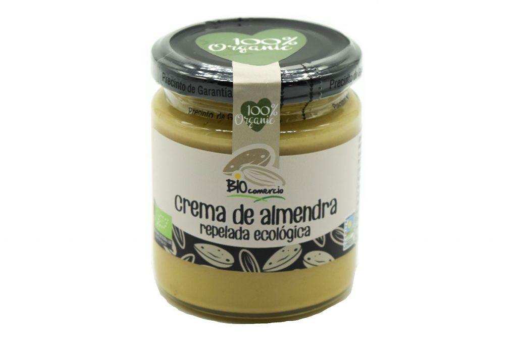 Crema de almendra repelada, de Bio Comercio