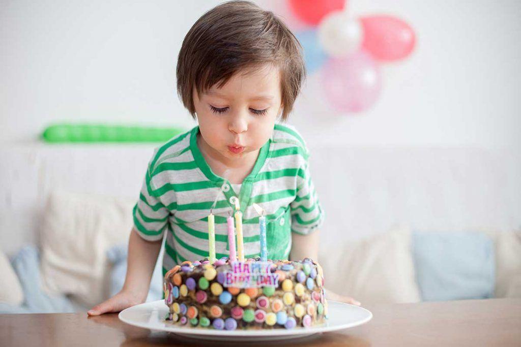 Niños veganos en cumpleaños, cómo gestionarlo