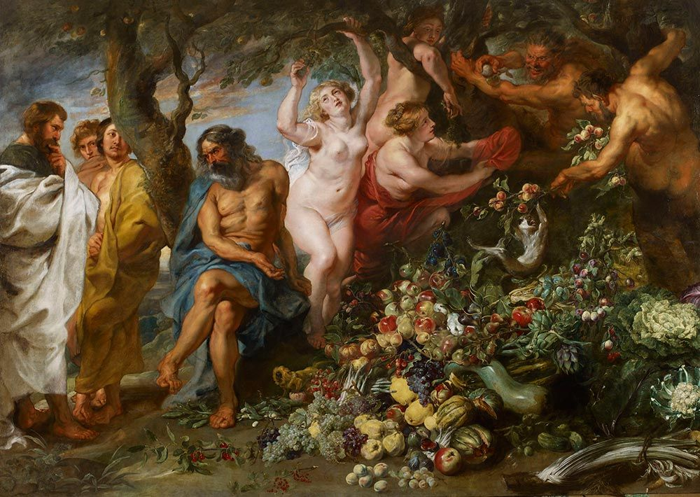 Peter Paul Rubens vegetarianismo