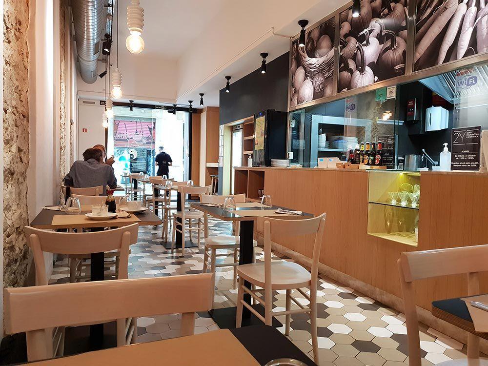 Restaurante 2Y barcelona